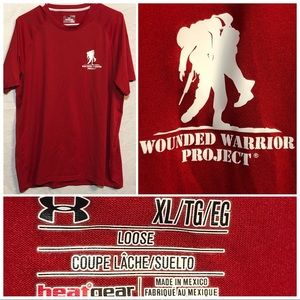 Under Armour Wounded Warrior Project T size XL